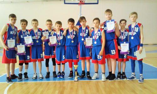 баскетбольная команда ДЮСШ КЕДР