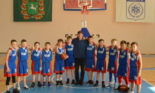 баскетбольная команда тренер Колесников А.В.